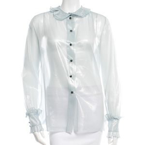 MARC JACOBS: Sheer  button up top